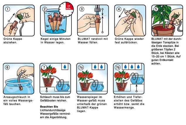 Pflanzenbewässerung in Ihrem Urlaub einfach und bequem