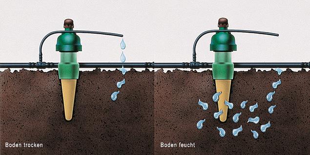 Perfekte Wasserabgabe mit Blumat Wasserspender